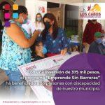 56 personas con discapacidad Emprenden sin Barreras con apoyo del Gobierno de Los Cabos