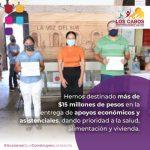 En 2020 el Gobierno Los Cabos priorizó apoyos en Salud, alimentación y vivienda