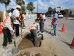 Para seguridad de automovilistas y peatones rehabilitan calles de CSL