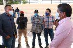AYUNTAMIENTO DE MULEGÉ REALIZA PRIMERA ENTREGA DE MIL CHAROLAS A PRODUCTORES DE HIGO EN VIZCAÍNO