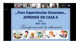 "ORGANIZA SEP FORO ""EXPERIENCIAS DOCENTES APRENDE EN CASA II """
