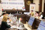ANALIZA MESA DE SEGURIDAD ACCIONES CONTRA LA VIOLENCIA DE GÉNERO EN BCS