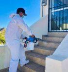 Para evitar contagios de COVID-19, INJUVE Los Cabos desinfecta sus instalaciones de manera continua