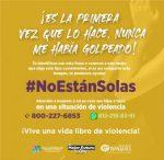 """REFUERZA ISMUJERES CAMPAÑA """"NO ESTÁN SOLAS"""""""