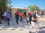 Para Garantizar el óptimo funcionamiento de los refugios temporales en CSL, el Gobierno de Los Cabos realiza recorridos de supervisión