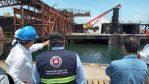 SUPERVISA PROTECCIÓN CIVIL ESTATAL MEDIDAS DE SEGURIDAD EN EXPORTADORA DE SAL