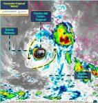 """Restos de la tormenta tropical """"Grace"""" dejan lluvias en Los Cabos: Protección Civil"""