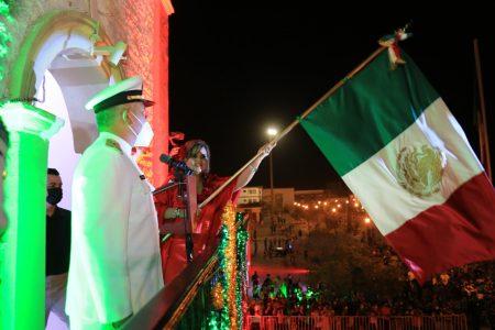 ¡Vivan las heroínas y los héroes que nos dieron patria! ¡Viva la independencia! ¡Viva México!: alcaldesa Armida Castro
