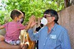 Oscar Leggs realiza gira de agradecimiento junto al gobernador electo en la zona rural de San José del Cabo
