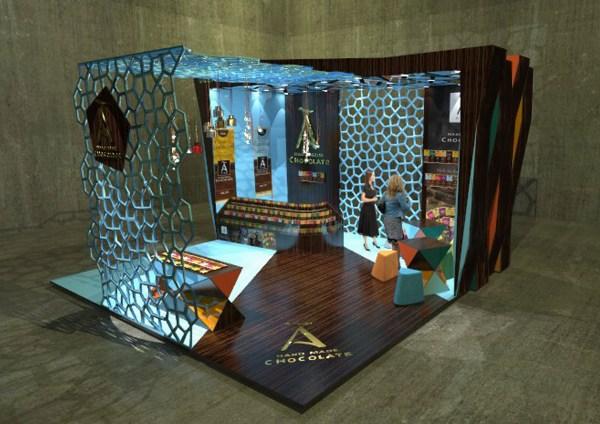 Exhibtion Stand Tatjana Scerbinina Interior Design