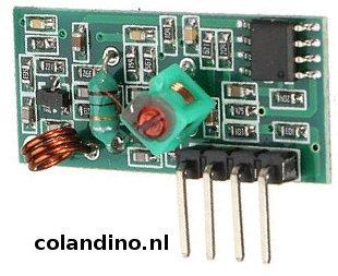 RF 433 ontvanger MX05V