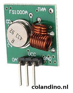 RF 433 zender FS1000A-01