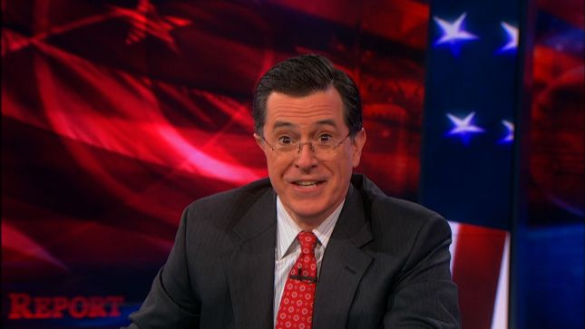 The Colbert Report opening February 26