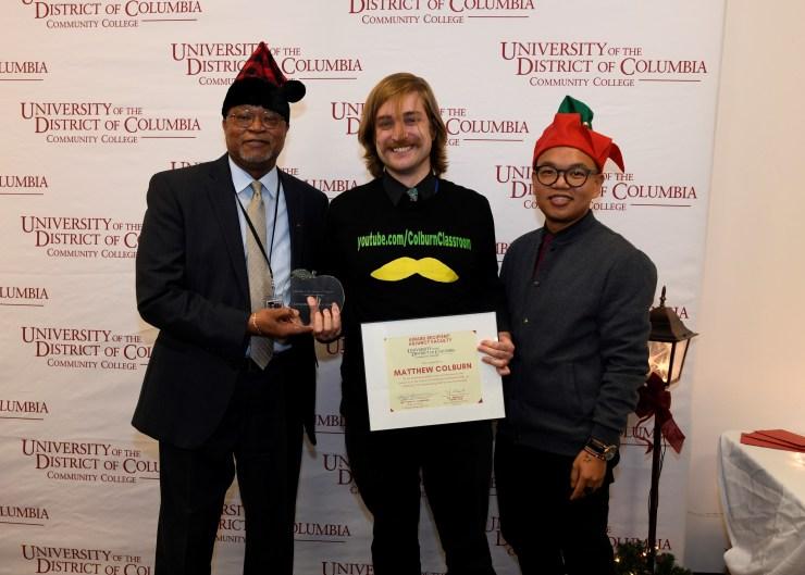 Award photo Adjunct of the Year UDC-CC