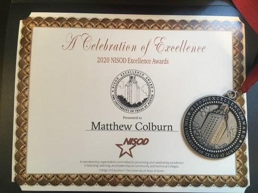 NISOD Award