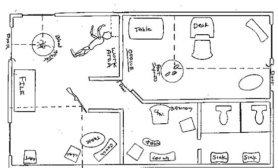 Rough Crime Scene Examples Coloring Pages