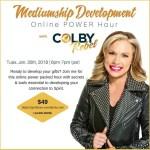 Mediumship Development-ONLINE class