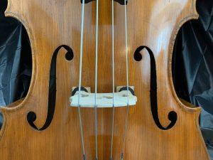 String Bass after repair