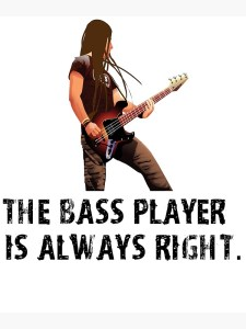 Bass players are Boss