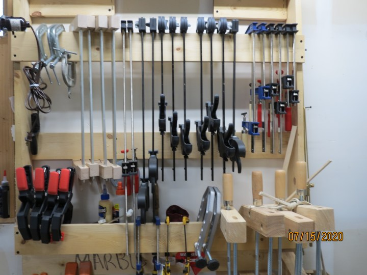 Clamps for Colby Luthier Bass service
