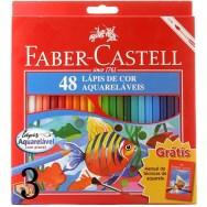 lápis faber 48 cores