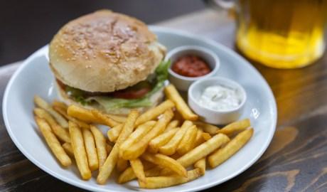 Burger-beer