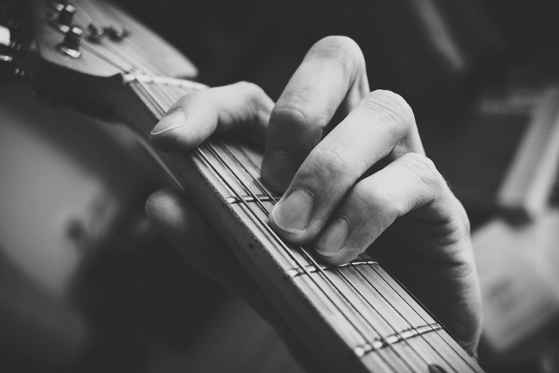 F Major Barre Chord Guitar