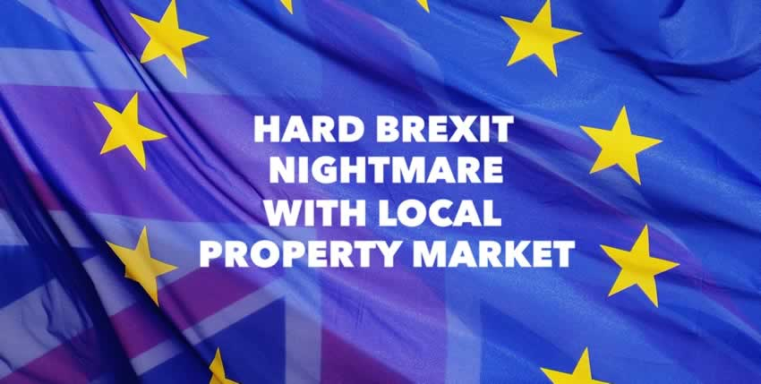 Hard Brexit Could Cause 1,800 Properties to be Dumped Onto the Colchester Property Market