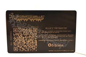 Portfel Bitcoin Polski - tył