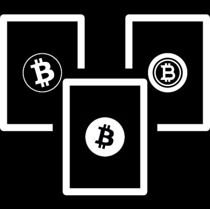 Zestaw zimnych portfeli Bitcoin - BCH, BTG, BTC