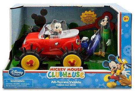 Win a Mickey Mouse Vehicle