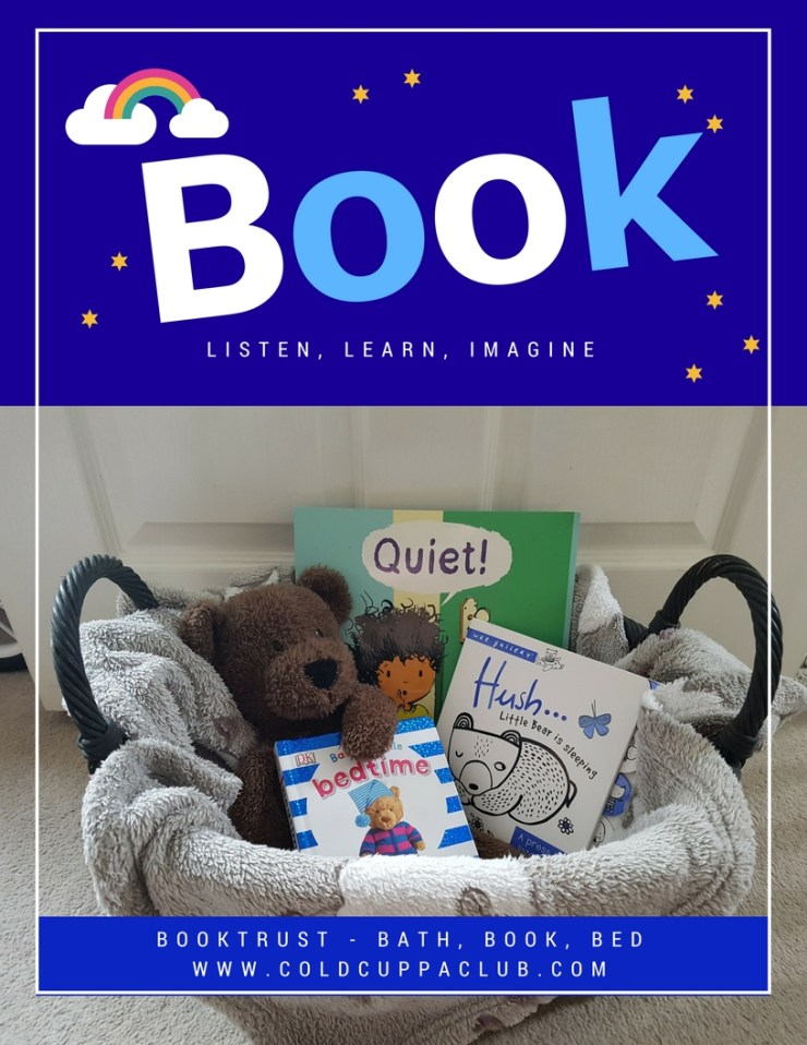 Booktrust, bath, book, bed