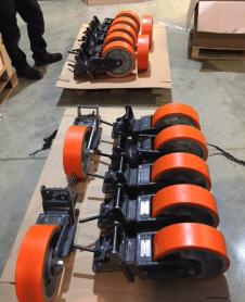 Container castors