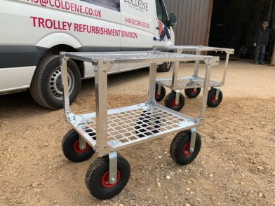 custom built fruit picking trolley 1