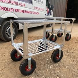 custom built fruit picking trolley 1