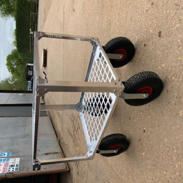 custom built fruit picking trolley 2