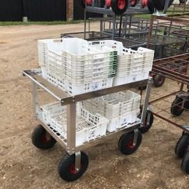 custom built fruit picking trolley 3