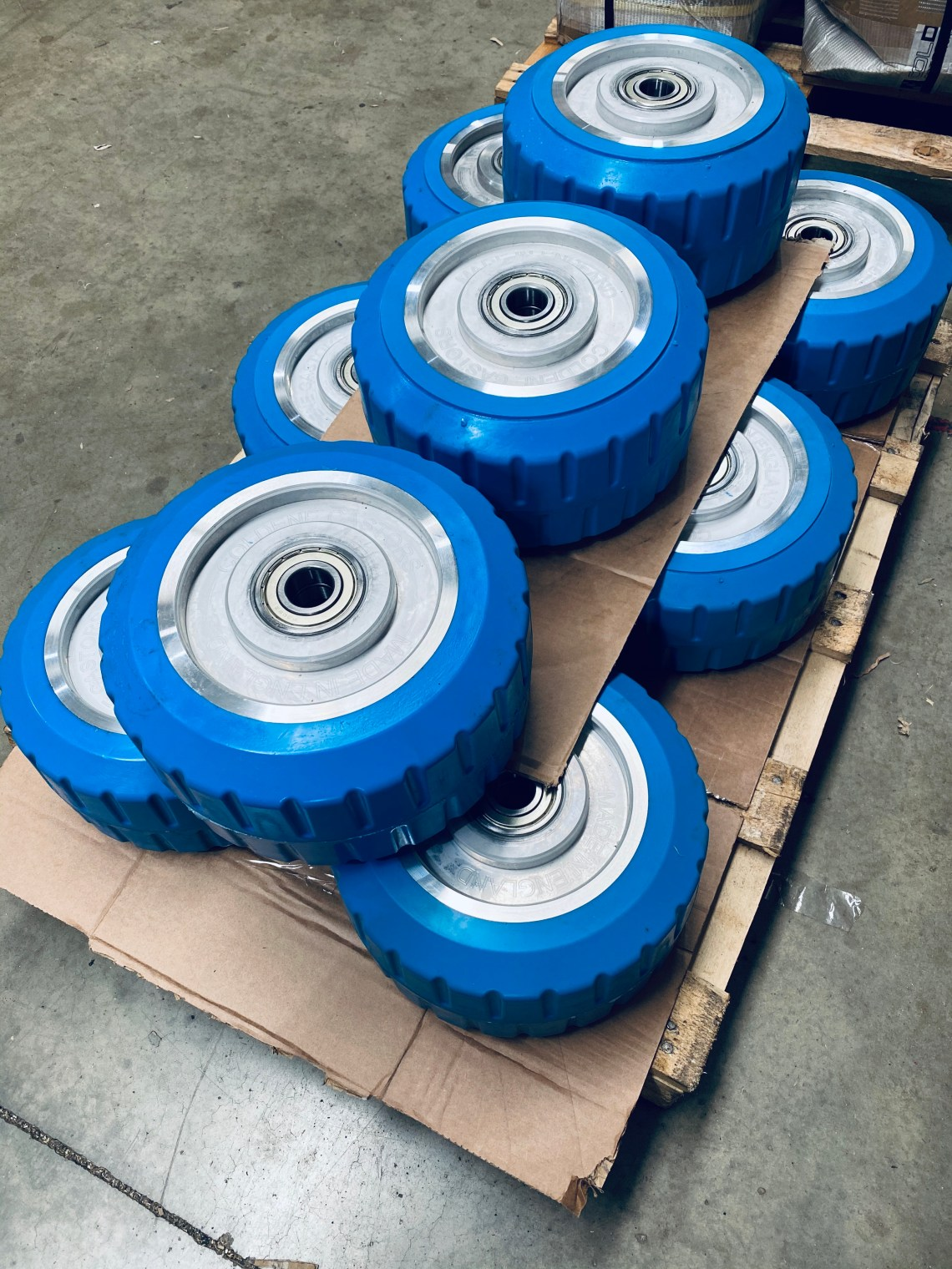 Polyurethane Wheels - AGV Wheels - Drive Wheels - Polyurethane products -