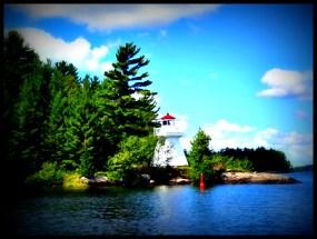 Lighthouse, Lake Muskoka