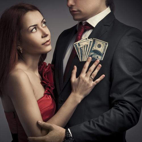 be a dependent queen to a rich man