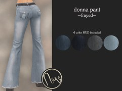 Neve Pant - Donna - Frayed