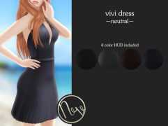 Neve Dress - Vivi - Neutral