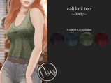 Neve Top - Cali Knit - Lively