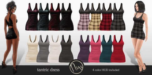 Neve Dress - Tantric