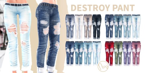 Neve - Destroy Pant - Full