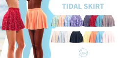 Neve - Tidal Skirt - All Colours