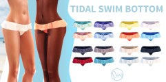 Neve - Tidal Swim Bottom - All Colours