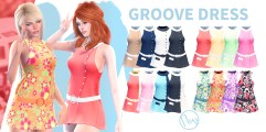 Neve - Groove Dress - All Colours