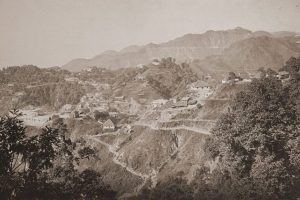 Mussoorie and Landour,1860s Captain Young