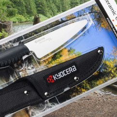 Kyocera Kitchen Carts With Seating Ceramic Camp Knife Review Cold Outdoorsman